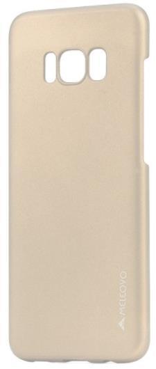Protectie spate Meleovo Metallic Slim pentru Samsung Galaxy S8 G950 (Auriu)