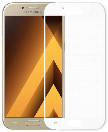 Folie Protectie Sticla Temperata Meleovo Full Cover White pentru Samsung Galaxy A3 (2017) title=Folie Protectie Sticla Temperata Meleovo Full Cover White pentru Samsung Galaxy A3 (2017)