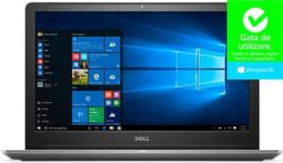 """Laptop Dell Vostro 5568 (Procesor Intel® Core™ i7-7500U (4M Cache, up to 3.50 GHz), Kaby Lake, 15.6"""" FHD, 8GB, 256GB SSD, nVidia GeForce 940MX @4GB, Win10 Pro, Gri)"""