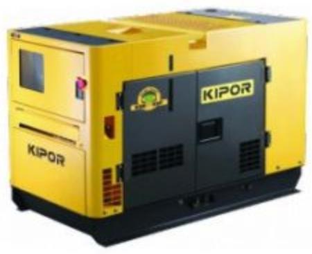Generator Curent Electric Kipor KDE 11 SS, Motor diesel, 1500 RPM, Insonorizat( 70090)