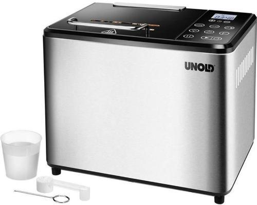Masina de paine Unold U68425, 1000 g, 13 programe (Argintiu)