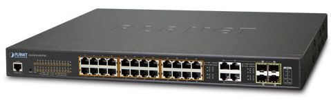 Switch Planet GS-4210-24UP4C, Gigabit, 24 Porturi