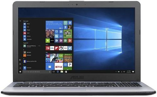 laptop asus vivobook max f542un-dm017t (procesor intel® core™ i5-8250u (6m cache, up to 3.40 ghz), kaby lake r,, 15.6inch fhd, 4gb, 1tb hdd @5400rpm, nvidia geforce mx150 @4gb, wireless ac, endless os, gri)