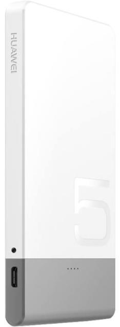 Imagine indisponibila pentru Acumulator Extern Huawei AP006L, 5000 mAh, 2A, USB, Universal (Alb)