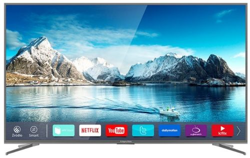 Televizor LED Kruger&Matz 190 cm (75inch) KM0275UHD-S2, Ultra HD 4K, Smart TV, WiFi, CI+