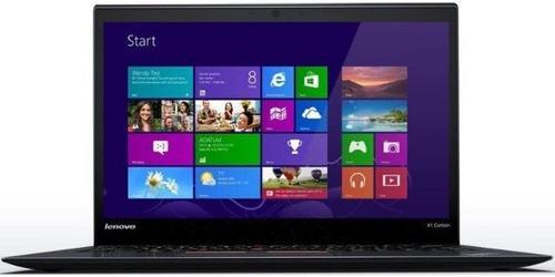 Laptop Refurbished Lenovo ThinkPad X1 Carbon (Procesor Intel® Core™ i5-4300U (3M Cache, up to 3.20 GHz), Haswell, 14.1inch, 8GB, 128GB SSD, Intel® HD Graphics 4400, Win10 Pro)