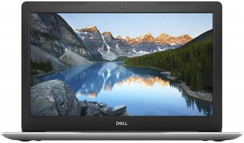 laptop dell inspiron 5570 (procesor intel® core™ i5-8250u (6m cache, up to 3.40 ghz), kaby lake r, 15.6inch fhd, 4gb, 256gb ssd, amd radeon 530 @2gb, linux, fpr, argintiu)