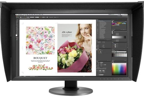Monitor IPS LED EIZO 27inch CG2730, WQHD (2560 x 1440), DVI, HDMI, DisplayPort, USB 3.0, 13 ms (Negru)