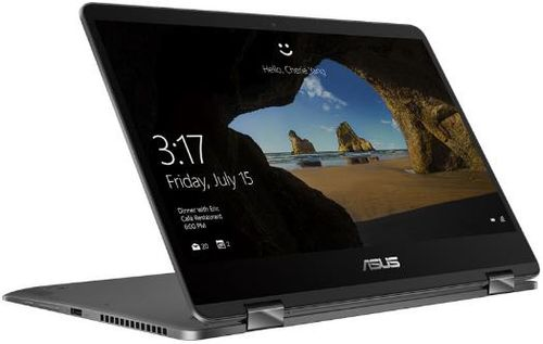 Laptop 2in1 ASUS ZenBook Flip UX461UN-E1005T (Procesor Intel® Core™ i7-8550U (8M Cache, 4.00 GHz), Kaby Lake R, 14inchFHD, Touch, 16GB, 512GB SSD, nVidia GeForce MX150 @2GB, Win10 Home, Gri)