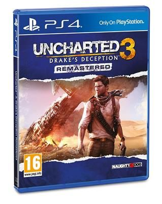 Uncharted 3 Drakes Deception Remastered (PS4)