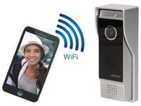 Interfon IP cu apelare pe telefon Wifi Orno OR-VID-IP-1045, Night Vision, trimitere poze si filme pe telefon (Argintiu)