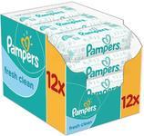 Servetele umede Pampers Fresh Clean Baby 12x64 buc