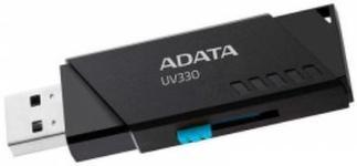 Stick USB A-DATA UV330 32GB, USB 3.1 (Negru)