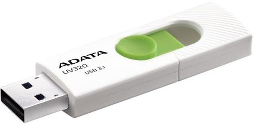 Stick USB A-DATA UV320 32GB, USB 3.1 (Alb/Verde)