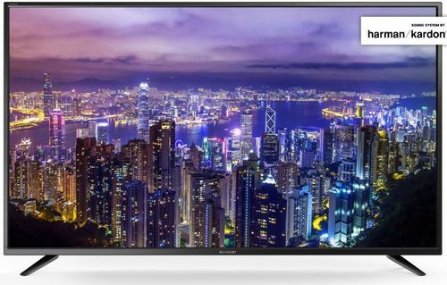 Televizor LED Sharp 165 cm (65inch) LC65CUG8052E, Ultra HD 4K, Smart TV, WiFi, CI+