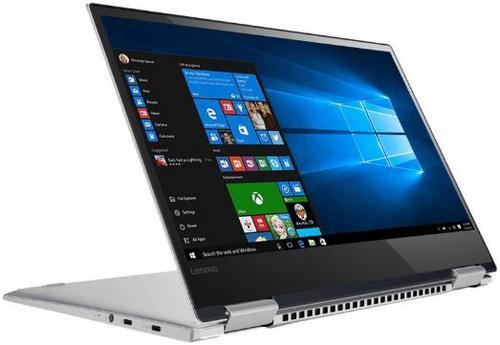 Laptop 2in1 Lenovo Yoga 720 (Procesor Intel® Core™ i7-8550U (8M Cache, up to 4.00 GHz), Kaby Lake R, 13.3inchFHD, Touch, 8GB, 512GB SSD, Intel® UHD Graphics 620, FPR, Win10 Home, Argintiu)