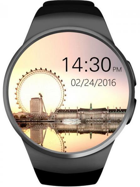 Smartwatch iUni KW18, 1.3inch, Camera, Bluetooth, Bratara silicon (Negru) title=Smartwatch iUni KW18, 1.3inch, Camera, Bluetooth, Bratara silicon (Negru)