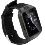 "Smartwatch iUni DZ09 Plus, 1.54"", 1.3MP, Bluetooth, Bratara silicon (Negru)"