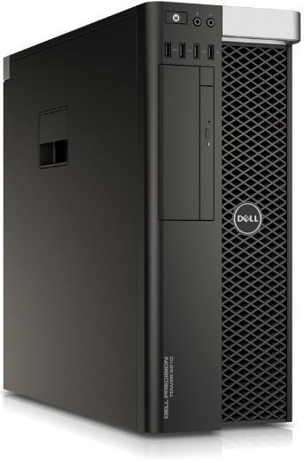 Sistem PC Dell Precision T5810 (Procesor Intel® Xeon® E5-1620 v4 (10M Cache, up to 3.80 GHz), Broadwell, 16GB, 1TB HDD @7200RPM + 256GB SSD, nVidia Quadro P4000 @8GB, Win10 Pro)