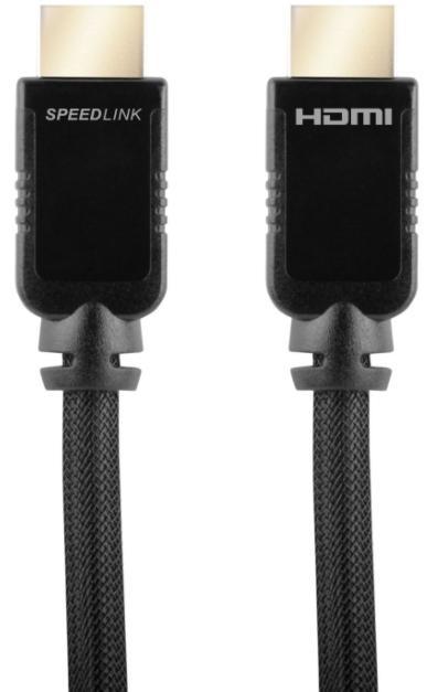 Imagine indisponibila pentru Cablu Speedlink SL-2316-BK-500, HDMI - HDMI, 5 m (Negru)