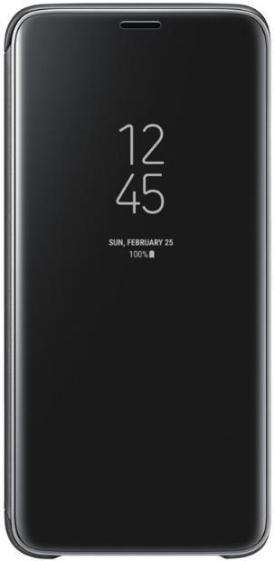 Husa Samsung Clear View Cover EF-ZG960CBEGWW pentru Samsung Galaxy S9 (Negru)