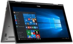 """Laptop 2in1 Dell Inspiron 15 5579 (Procesor Intel® Core™ i5-8250U (6M Cache, up to 3.40 GHz), Kaby Lake, 15.6""""FHD, Touch, 8GB, 256GB SSD, Intel® UHD Graphics 620, Wireless AC, Tastatura iluminata, Win10 Home, Gri)"""