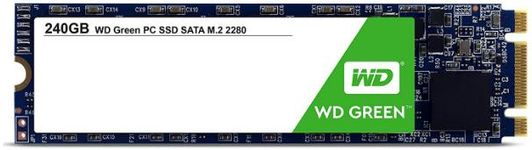 SSD Western Digital Green M.2 2280, 240GB, SATA III 600