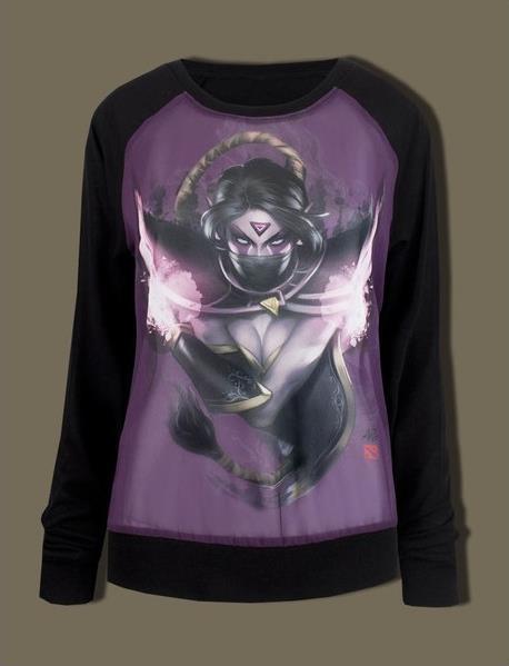 Bluza Dama DOTA 2 Templar Assassin, Marime L