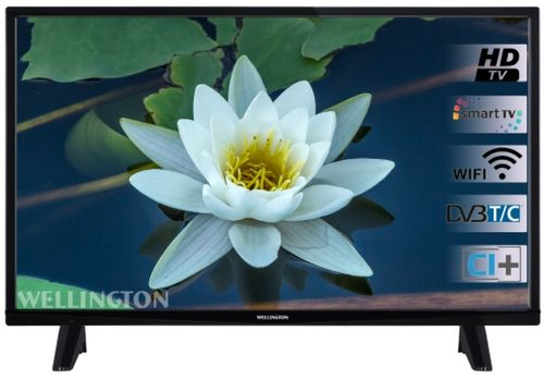 Televizor LED Wellington 99 cm (39inch) WL39HD471SW, HD Ready, Smart TV, WiFi, CI+
