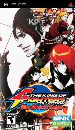 king of fighters orochi saga nla (psp)