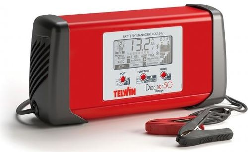 Redresor auto Telwin DOCTOR CHARGE 50, 6/12/24 V