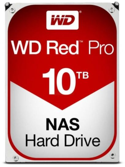 HDD Desktop Western Digital Red Pro, 10TB, SATA III 600, 256 MB Buffer
