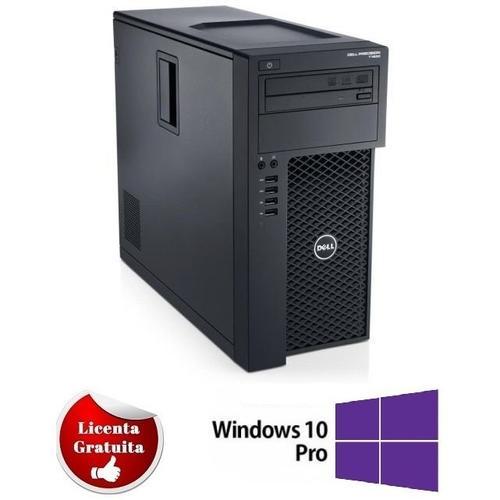 Sistem PC Refurbished Dell T1650 (Procesor Intel® XEON E3-1225 V2(8M Cache, up to 3.60 GHz), Ivy Bridge, 16GB, 500GB HDD, Intel HD Graphics, Win10 Professional)
