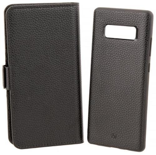 Husa Book Cover Just Must Car Wallet pentru Samsung Galaxy Note 8 (Negru)