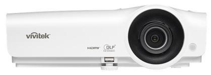 Videoproiector Vivitek DW265, 3500 lumeni, WXGA (1280 x 800), Contrast 15.000:1, HDMI (Alb)