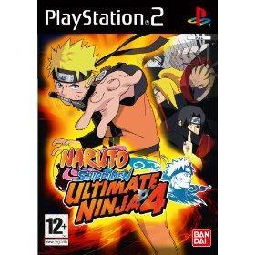 naruto ultimate ninja 4 shippuden (ps2)