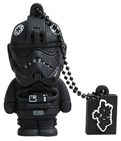 stick usb tribe star wars tie fighter pilot fd007518, 16gb, usb 2.0 (negru)