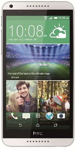 Telefon Mobil HTC Desire 816, Procesor Quad Core 1.6 GHz, Ecran 5.5inch, 1.5GB RAM, 8GB Flash, 13MP, 4G, Wi-Fi, Android (Alb)