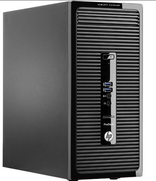 Calculator Sistem PC Refurbished HP ProDesk 400 G2 (Intel® Core™ i3-4150 (3M Cache, up to 3.50 GHz), Haswell, 4GB, 500GB HDD, Intel® HD Graphics 4400, Win10 Pro, Negru