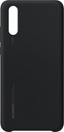 Protectie Spate Huawei Silicon 51992365 pentru Huawei P20 (Negru)