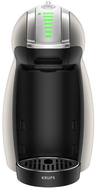 Espressor Krups KP160T31 Dolce Genio 2, 1500 W, 0.6 l (Argintiu)