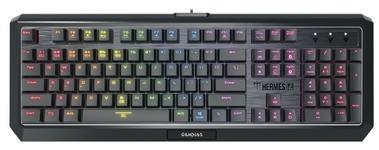 Tastatura Gaming Gamdias Hermes P3 (Negru/Argintiu)