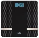 Cantar de baie Laica PS7002, 180 kg, Bluetooth (Negru)