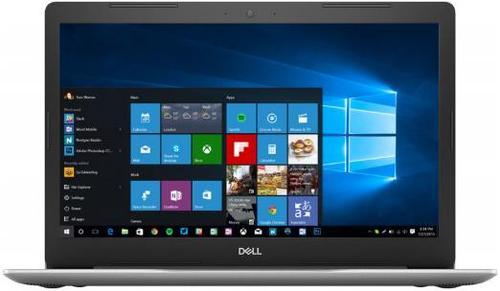 laptop dell inspiron 5570 (procesor intel® core™ i5-8250u (6m cache, up to 3.40 ghz), kaby lake r, 15.6inch fhd, 8gb, 1tb hdd @5400rpm, amd radeon 530, wind10 home, fpr, argintiu)