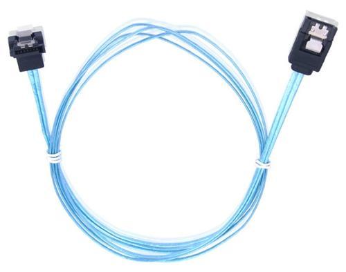 Cablu Orico CPD-7P6G-BA90, SATA III - SATA III, 0.9 m (Albastru)