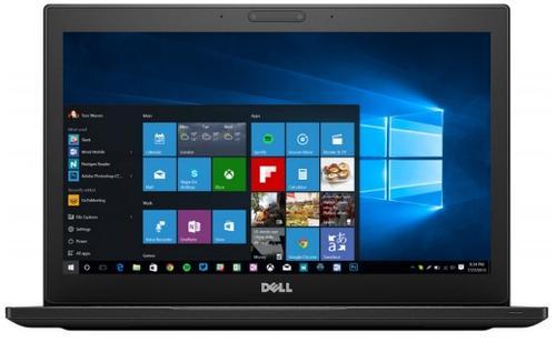 laptop dell latitude 7290 (procesor intel® core™ i5-8350u (6m cache, up to 3.60 ghz), kaby lake r, 12.5inchhd, 8gb, 256gb ssd, intel® uhd graphics 620, tastatura iluminata, fpr, win10 pro, negru)