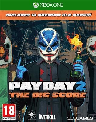payday 2 the big score (xbox one)