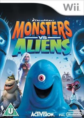 monsters vs aliens nintendo (wii)