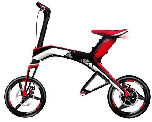 Bicicleta electrica Robstep X1 (Rosu)
