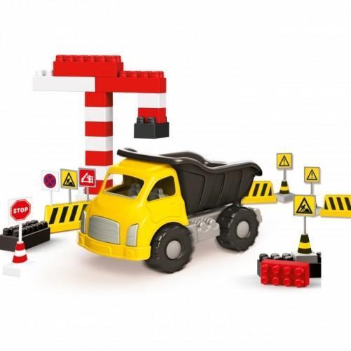 Camion si cuburi de construit DOLU, 40 piese
